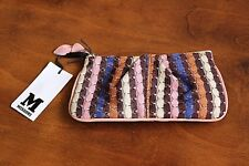 MISSONI Authentic Women's Small Purse FreeP&P New with tags Leather & Cotton