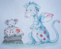 KL67 Story Time Dragon Counted Cross Stitch Kit by Genny Haines
