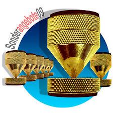 4 x ABSORBER Noicekiller Dynavox Spikes Messing BOXENFÜßE Lautsprecher-Füße big