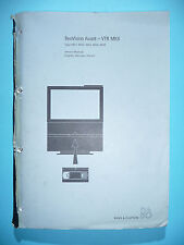 Service-Manual  für Bang&Olufsen BeoVision Avant VTR MKII (4451,4453,4456,4459
