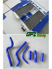 Aluminum Radiator & hose FOR HONDA CR500R 1991-2001 93 94 95 96 97 98 99