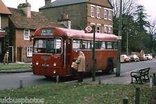 London Transport RF485 Weybridge Nov 77 Bus Photo