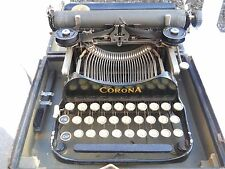 Vintage Corona 3 Portable Folding Typewriter - The Personal Writing Machine