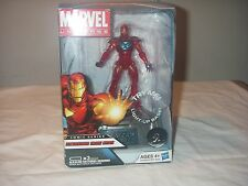 MARVEL UNIVERSE EXTREMIS IRON MAN LIGHT-UP BASE  HASBRO NEW IN BOX 2011