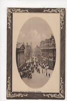 Mansion House & Cheapside London Vintage Postcard 624a