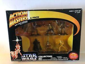 Star Wars Action Masters Die Cast Metal 6 Pack 1994 (damaged box) Box Kenner