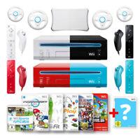 Nintendo Wii Konsole + Controller & Spiele wie Mario Kart, Wii Fit, Sports