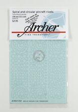 Archer 1/48 & 1/32 Aircraft Rivets in Spiral & Circular Patterns (.23mm) AR88139