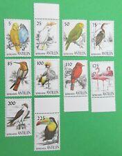 Nederlandse Antillen 1997 NVPH  1149 t/m 1158 Vogels Postfris