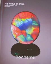 BONHAMS The World of Opals – 11/24/2014 Lightning Ridge Fire Peacock Black Opal