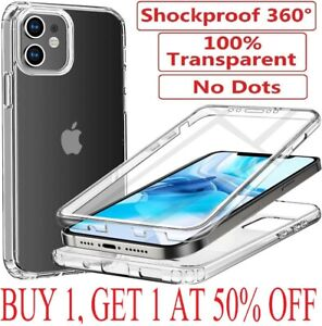 Shockproof Case for iPhone 12 11 Pro Max XR 7 8 PLUS SE Bumper Clear Case Cover