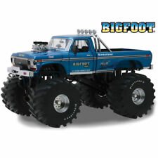 1974 Ford F-250 Monster Truck 66-inch Tires Bigfoot 1/18 Model Greenlight 13541
