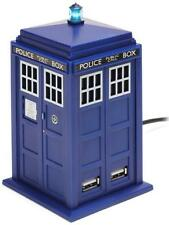 Doctor Who Tardis 4-Port USB Computer Hub Dr.Who