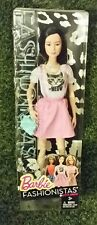 NEW Barbie FASHIONISTAS Doll #10 Kitty Dress Pink Meow Asian 2014