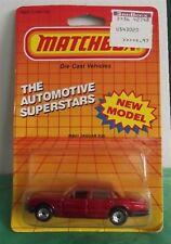 Matchbox 1986 MB 41 Jaguar XJ6 1/64 Automotive Superstars Card New