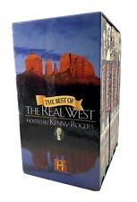 THE HISTORY CHANNEL, Best of the Real West - Boxed Set (VHS, 2000, 5-Tape Set)