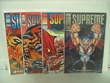 Supreme #1-2 5-6 Image Comics comic book 1992-93 lot