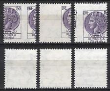 #2191 - Repubblica - 150 lire Siracusana, 1976 - Nuovi (** MNH) / Varietà