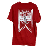 Detroit Red Wings Farewell to The Joe 2017 Mens Large Red T Shirt 47' Brand