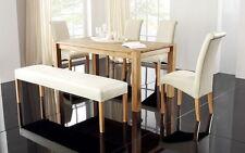 Tisch- & Stuhl-Sets aus Kunstleder mit bis zu 4 Sitzplätzen