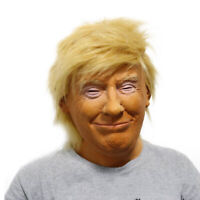 For Donald Trump Mask Presidential Costume Latex Cospaly Mask The USA Prisident