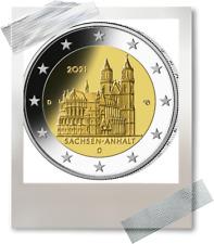 2 EURO *** Allemagne 2021 Duitsland *** Sachsen-Anhalt - Magdeburg *** ADFGJ !!!