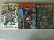 League of Extraordinary Gentlemen vol 1 2 3 Tpb Lot, Black Dossier, Alan Moore
