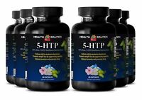 99% Pure Griffonia Simplicifolia - 5-HTP 100mg - Decrease In Appetite - 6 Bottle