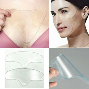 Silicone Facial Wrinkle Pad Anti-Aging Reusable Chest Neck Eye Pad For Face-Care