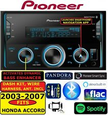 FITS 03-07 HONDA ACCORD PIONEER AM/FM USB AUX MP3 BLUETOOTH RADIO CAR STEREO PKG