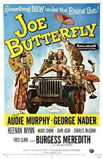 JOE BUTTERFLY Movie POSTER 27x40 Audie Murphy George Nader Keenan Wynn Kieko