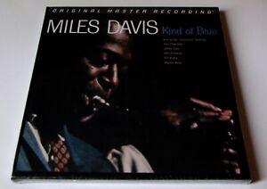 MFSL Miles Davis - Kind Of Blue 2 x 45rpm Lp 180g Audiophile Press New/Sealed