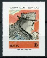 Italy Famous People Stamps 2020 MNH Federico Fellini Film Director 1v S/A Set