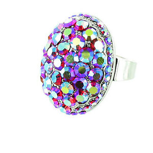 Sparkly Bling Cocktail Ring MORE COLOURS AVAILABLE