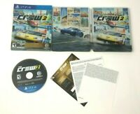 The Crew 2 Steelbook Gold Edition for PlayStation 4 / PS4 / Complete & Tested