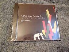 Vladislav Kovalsky Live In Japan Vol. 1 CD Classical Piano SEALED