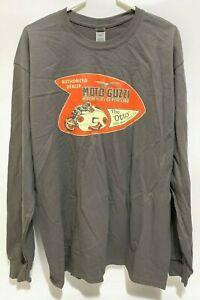 Moto Guzzi Authorized Dealer Shirt Motorcycles of Portland 1955 V-8 Otto LIMITED