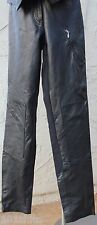 Harley Davidson Women's 32/4 Riding Pants Leather Nylon Spandex
