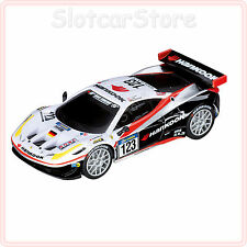 """Carrera GO 61212 Ferrari 458 Italia GT2 Hankook Team Farnbacher """"No.123"""" 1:43"""