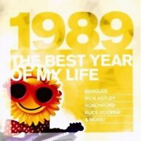 THE BEST YEAR OF MY LIFE: 1989  CD NEW