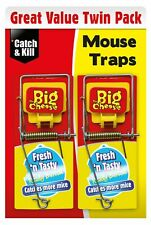 2 x Ready Baited Mouse Traps Rodent Killer Wipe Clean Catcher Pest Control