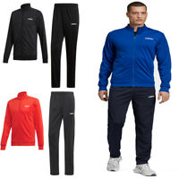 Adidas Essentials Mens Tracksuit Bottoms Full Zip Top Jogging Suit Jacket Size