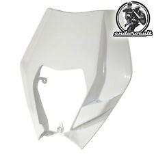 Lampenmaske weiss KTM EXC/F/125/200/250/300/400/450/500 (Lampe,Scheinwerfer)