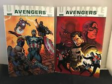 Ultimate Avengers Set: Crime & Punishment / Next Generation Hardcover Comics