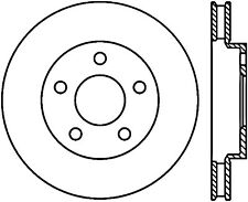 Disc Brake Rotor-Sport Drilled/Slotted Disc Front Left Stoptech 127.62056L