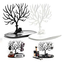 Jewelry Deer Tree Stand Display Organizer Necklace Ring Earring Holder Rack SEAU