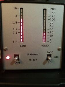 Palomar Swr And Watts Meter Up To 1000 Watts
