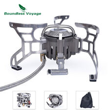 High Power Gas Stove Camping Stove Portable Outdoor Furnace Lightweight Burner