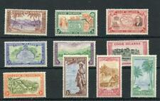 Cook Islands 1949-61 set SG150/9 MM
