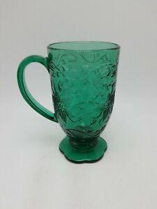 "Princess House ""Fantasia Emerald Green"" Mug - 6 Inch - #5284"